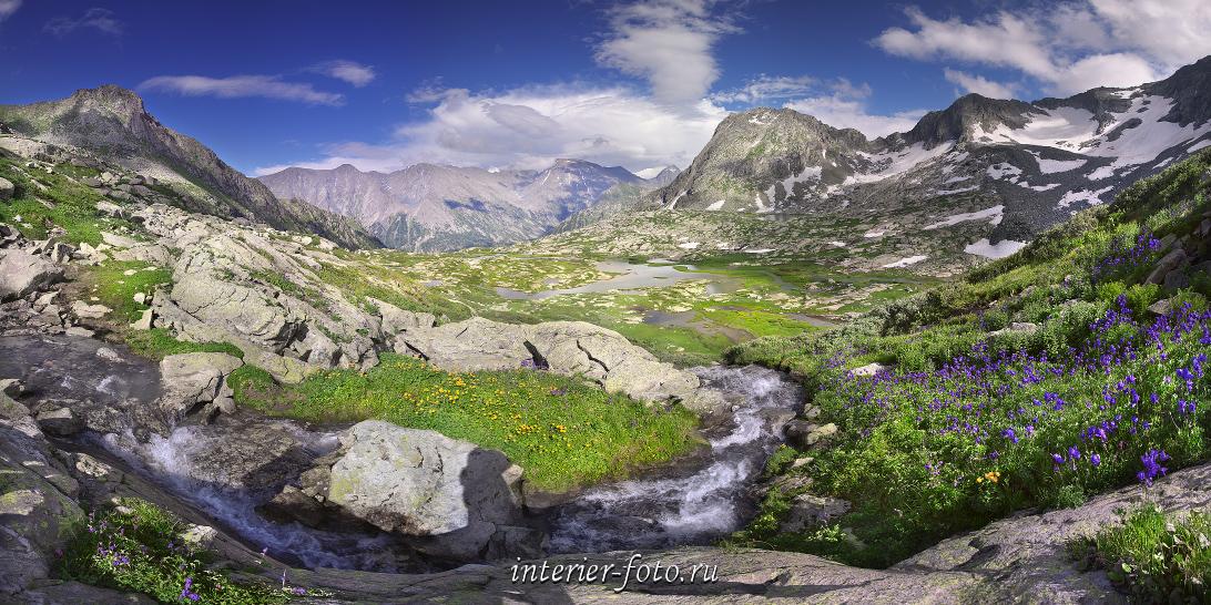 Панорама Катунский хребет