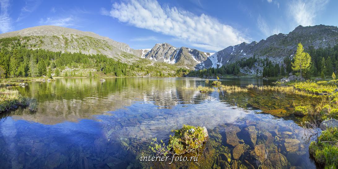 Каракольские озера на Алтае
