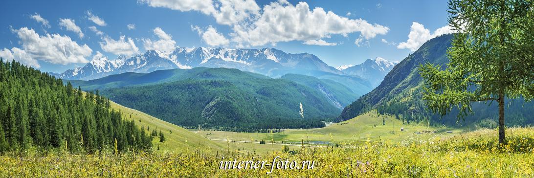Северо-Чуйский хребет на Алтае