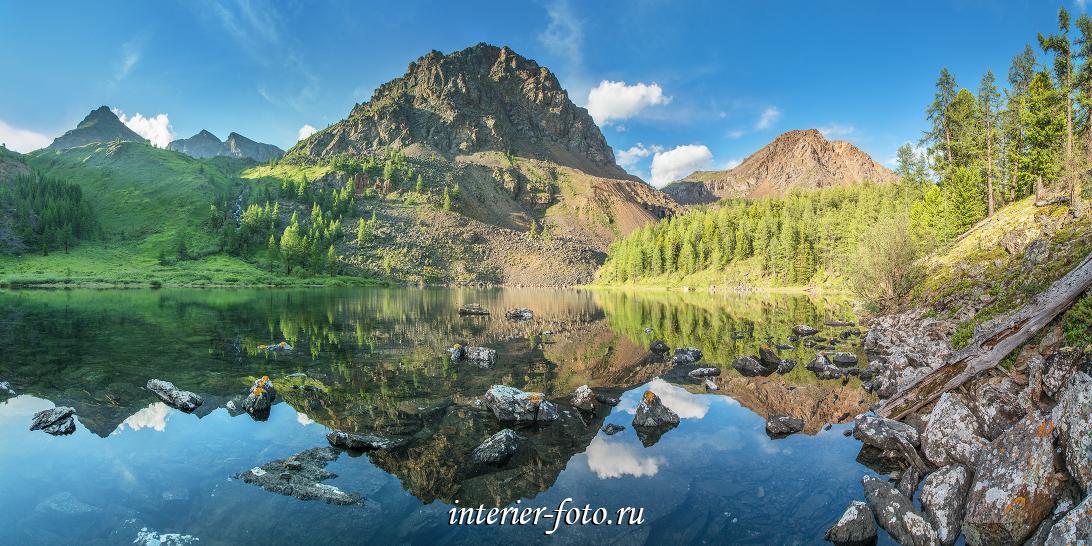 Куюктанарские озера в Горном Алтае
