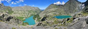 Панорама В долине реки Крепкой