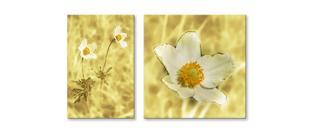 Диптих Цветы