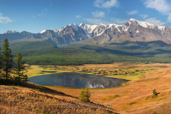 Озеро Джангысколь. Алтай