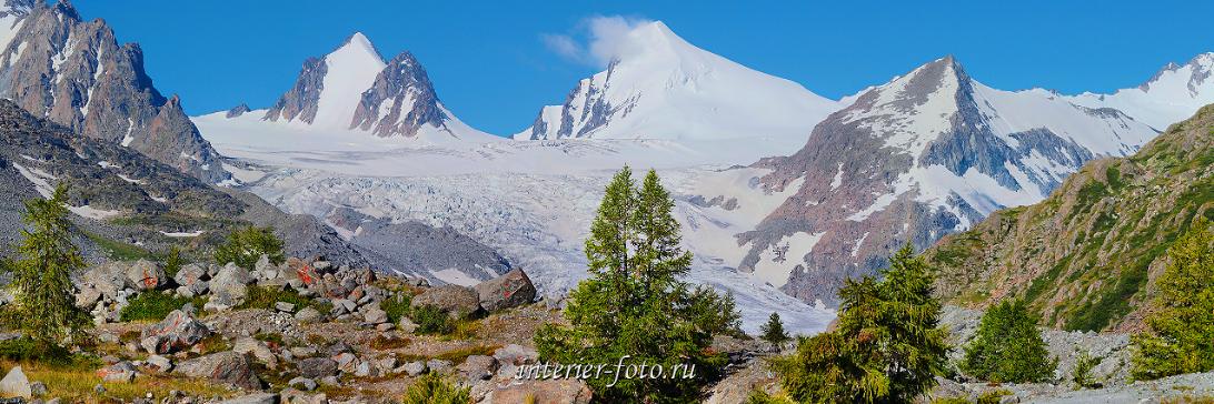 Красивые снежные горы