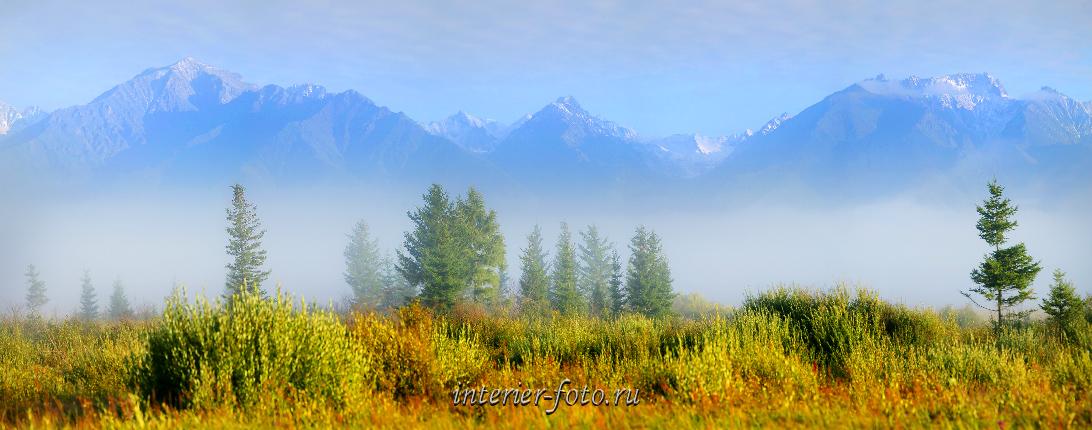 Красивые горы Саяны