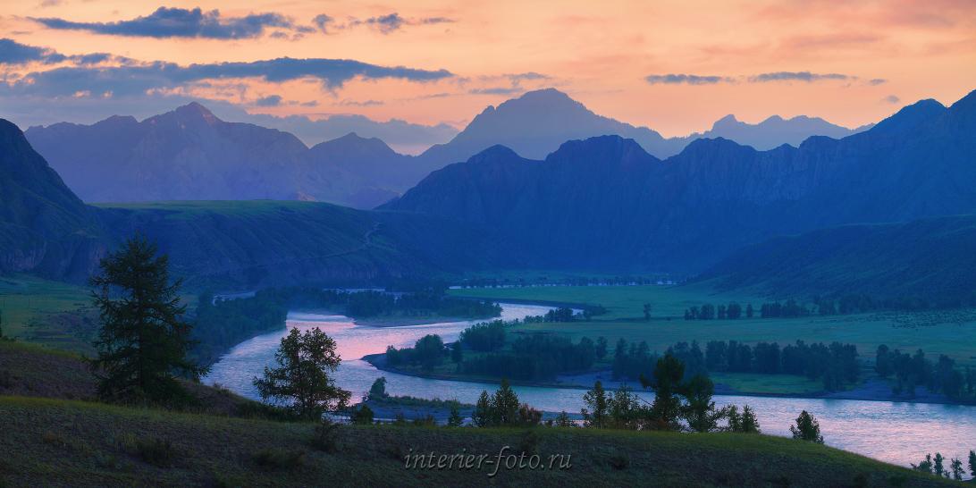 Красивые горы Рассвет