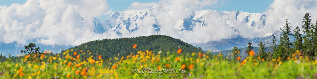 Красивые горы Алтая