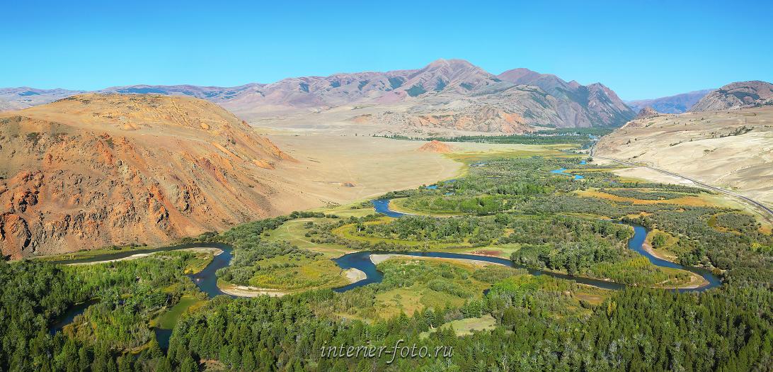 Красная горка Долина Чуи