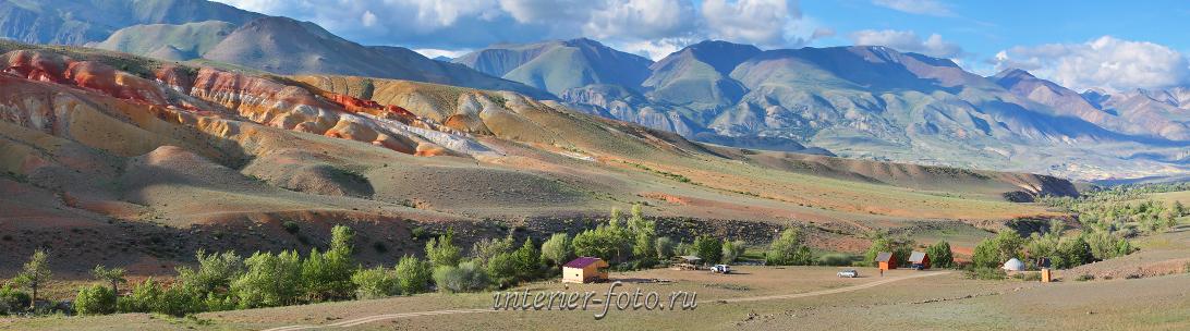Панорама Кызыл-Чина