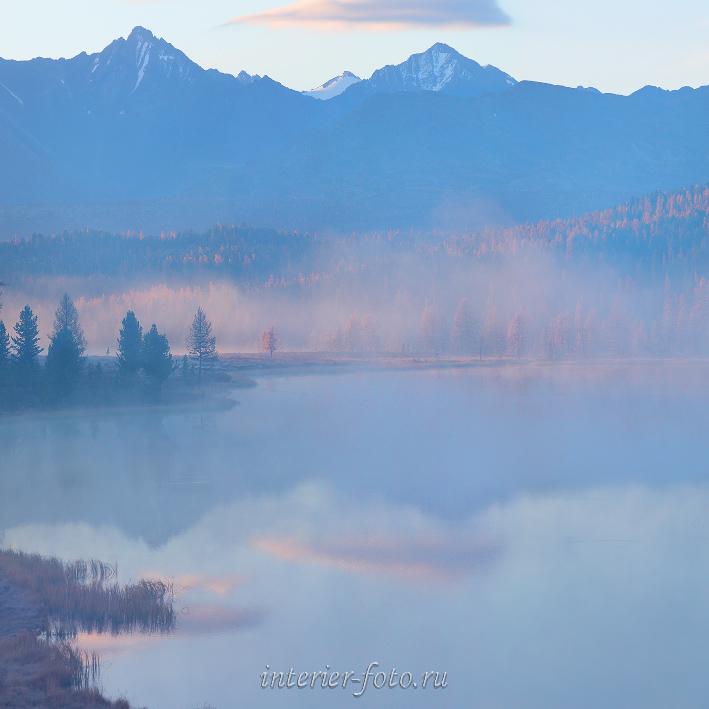 Озеро Киделю утром