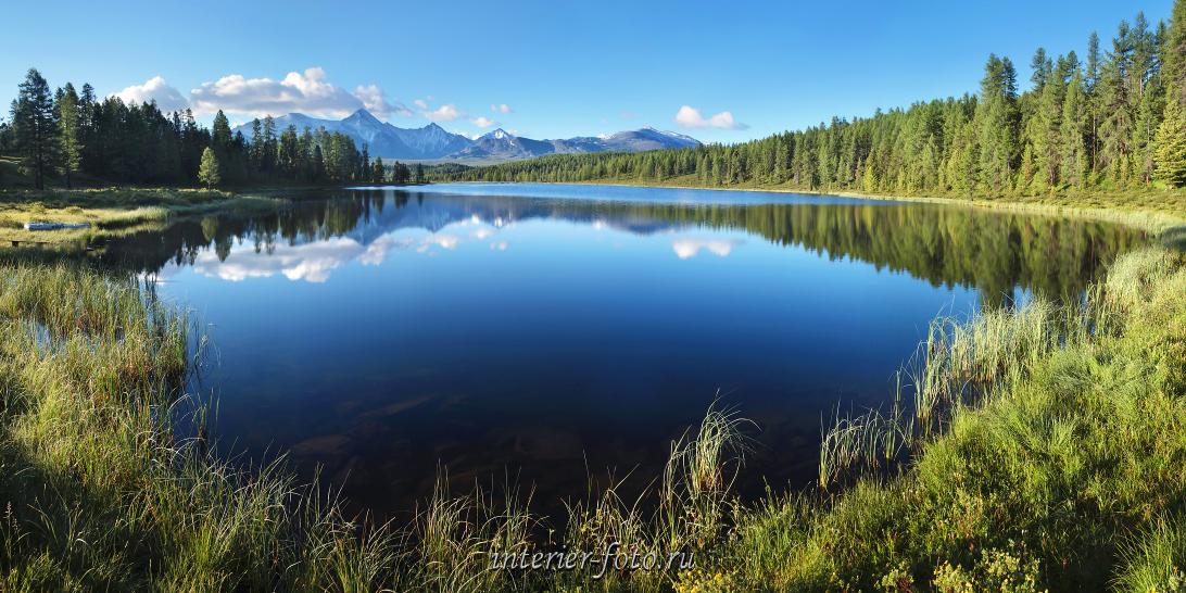 Озеро Киделю летом