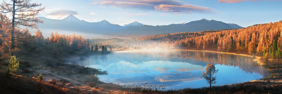 Осень на озере Киделю