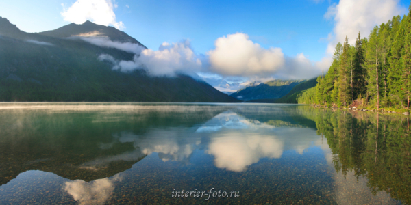 Панорама Нижнее Мультинское озеро