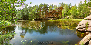 Панорама Мохового озера