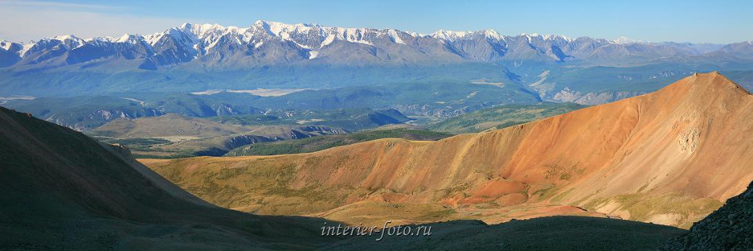 Панорамный вид Горы