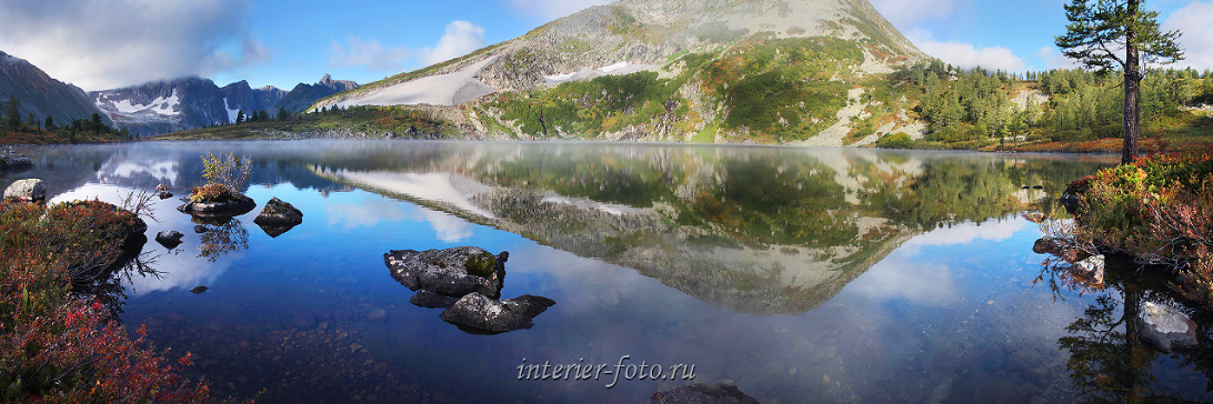 Прекрасные пейзажи Озеро