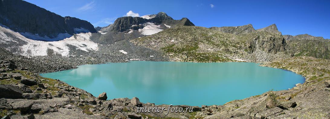 Сайт фотографий Горное озеро
