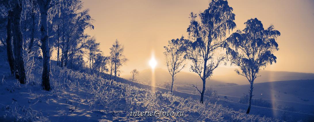 Туман и дымка Зима