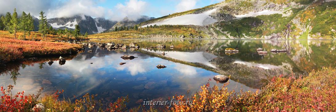 Живописные места Горное озеро