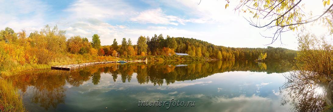 Живописный край Озеро