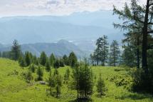Вид с Кайтанакского перевала