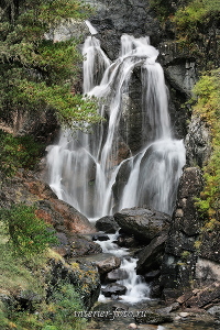 Водопад Куркурек. Курайский хребет. Алтай (3016)