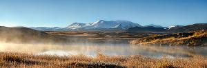 Туманное утро Ак-Алахи. Укок. Алтай (6054)