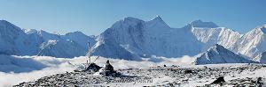 Фотопейзаж Вид на Белуху с перевала Каратюрек. Алтай (6100)