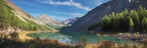 Панорамная фотография Озеро Камрю