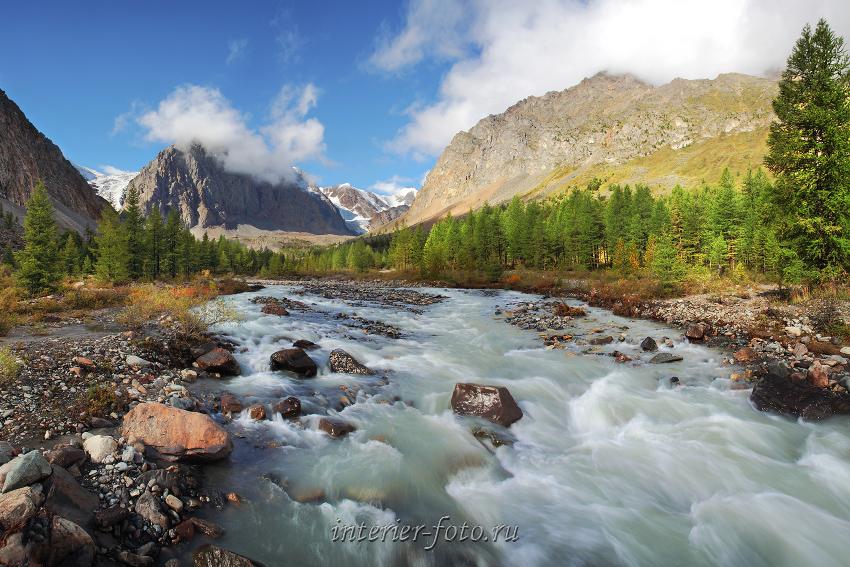 Долина Актру - Северо-Чуйский хребет