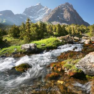 Река Чапдара в Фанских горах
