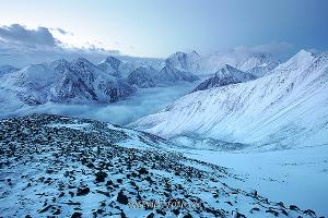 Белуха с перевала Каратюрек