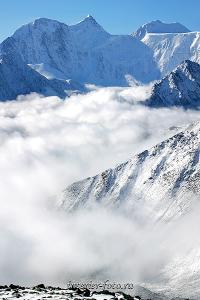 Алтай фото Белуха с перевала Каратюрек