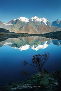 Гора Белуха со стороны Казахстана