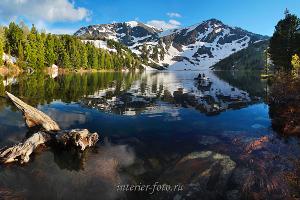 Виды пейзажа Гора Красная на Алтае