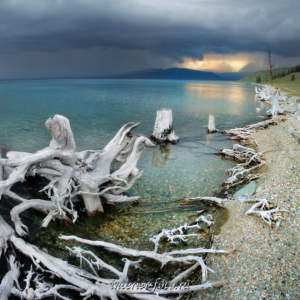 Озеро Хубсугул в Монголии