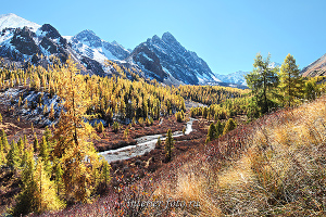 Долина реки Каракабак - Северо-Чуйский хребет