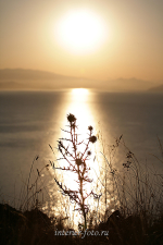 Восход солнца на Бухтарме, Казахстанский Алтай