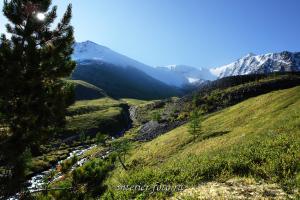 Подъем на перевал Каратюрек от Кедровых стоянок