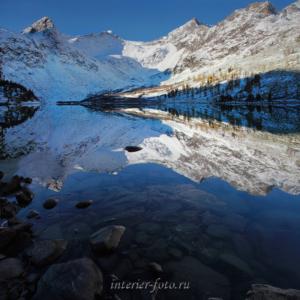 Фото квадратного формата Озеро Крепкое
