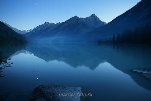 Кучерлинское озеро - Катунский хребет