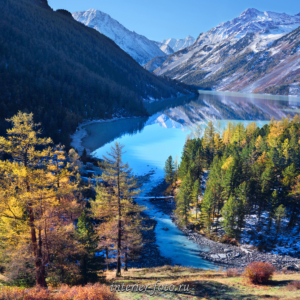 Квадратные фотографии Осень на Кучерлинском озере
