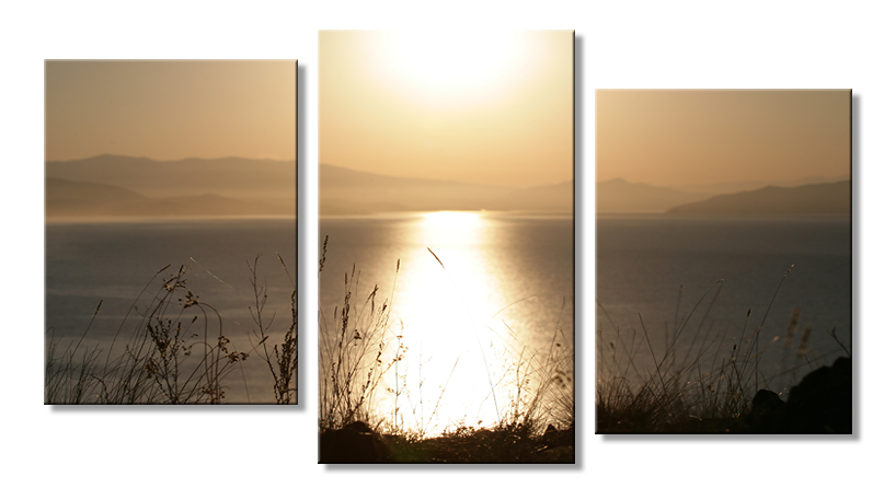 Модульное фото - пейзаж