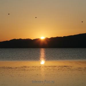 Квадратные фотографии Озеро в Монголии
