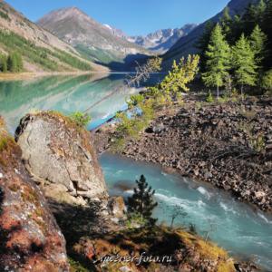 Квадратное фото Озеро Камрю