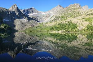 Большое Крепкое озеро - район Мультинских озер