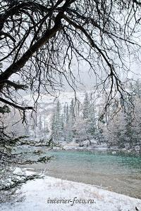Зима пришла на Чую