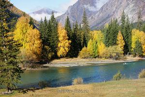 Осенний день на Чуе - Алтай