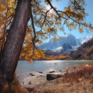 Фото квадратного формата Верхнее Шавлинское озеро
