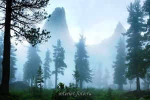 Природный пейзаж Скала Парабола - хребет Ергаки
